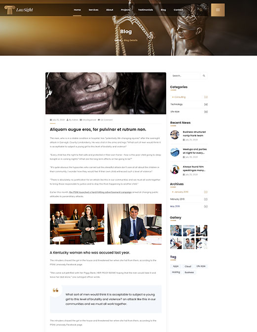 LawSight - <cite>Blog Details</cite>